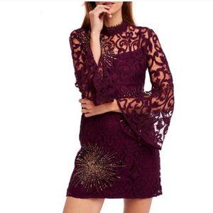 NEW Free People North Star Lace Mini Dress
